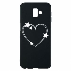 Samsung J6 Plus 2018 Case Heart with stars