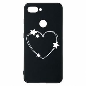 Xiaomi Mi8 Lite Case Heart with stars