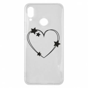 Huawei P Smart Plus Case Heart with stars