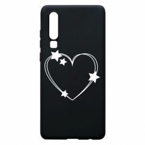 Huawei P30 Case Heart with stars