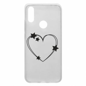 Xiaomi Redmi 7 Case Heart with stars