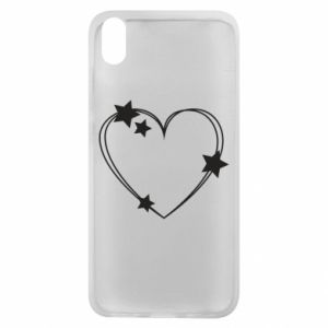 Xiaomi Redmi 7A Case Heart with stars