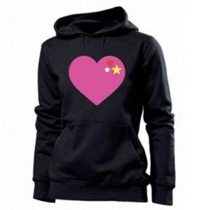 Damska bluza Różowe serce