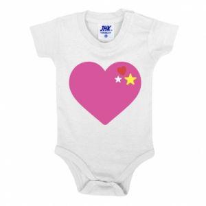 Body dla dzieci Różowe serce