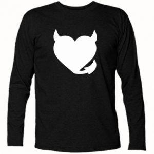 Koszulka z długim rękawem Serce diabła