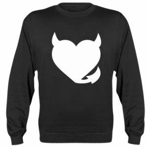 Sweatshirt Devil's heart