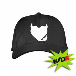 Kids' cap Devil's heart