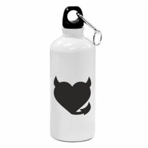 Water bottle Devil's heart