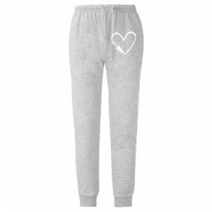 Męskie spodnie lekkie Heart