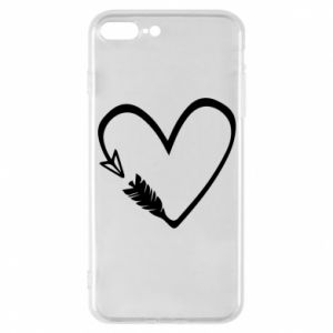 iPhone 7 Plus case Heart