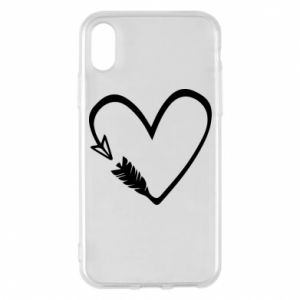 iPhone X/Xs Case Heart