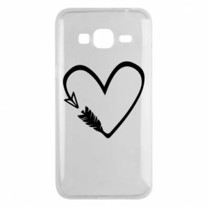 Samsung J3 2016 Case Heart