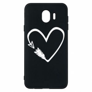 Samsung J4 Case Heart