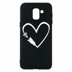 Samsung J6 Case Heart