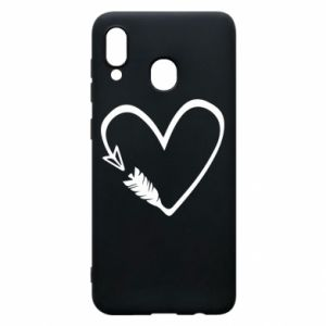Samsung A20 Case Heart