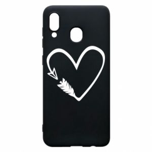 Samsung A30 Case Heart