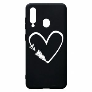 Samsung A60 Case Heart