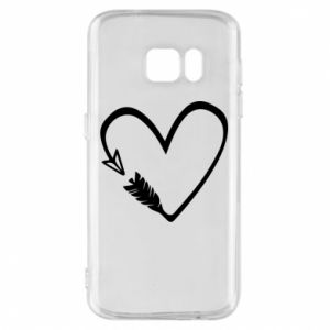 Samsung S7 Case Heart