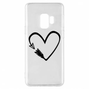 Samsung S9 Case Heart