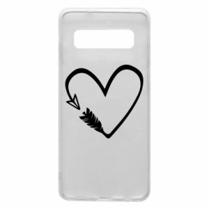 Samsung S10 Case Heart