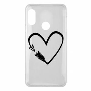 Mi A2 Lite Case Heart