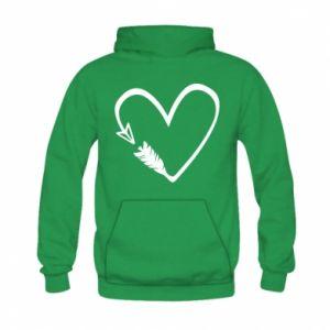 Kid's hoodie Heart