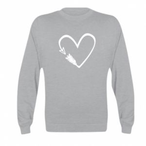 Kid's sweatshirt Heart
