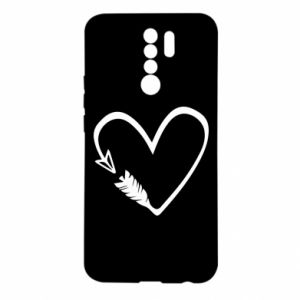 Xiaomi Redmi 9 Case Heart