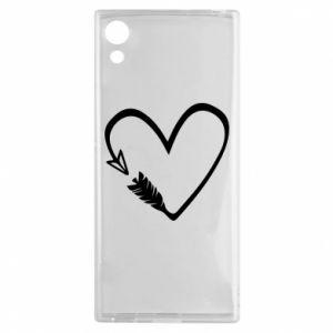 Sony Xperia XA1 Case Heart