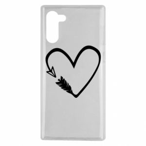 Samsung Note 10 Case Heart