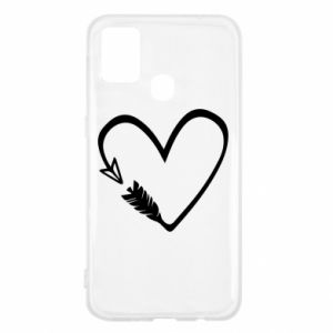 Samsung M31 Case Heart