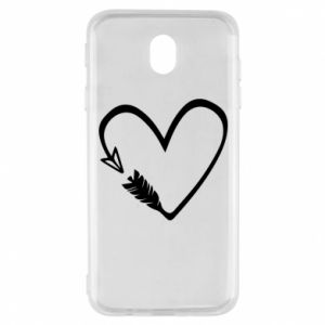 Samsung J7 2017 Case Heart
