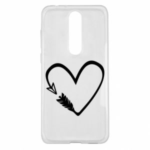 Nokia 5.1 Plus Case Heart
