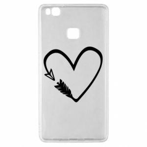 Huawei P9 Lite Case Heart