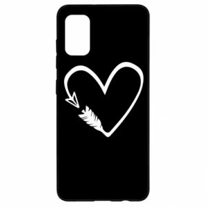 Samsung A41 Case Heart