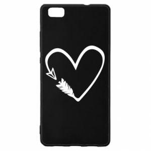 Huawei P8 Lite Case Heart