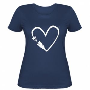 Women's t-shirt Heart