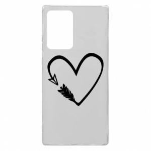 Samsung Note 20 Ultra Case Heart