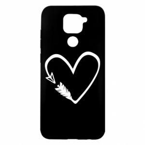 Xiaomi Redmi Note 9 / Redmi 10X case % print% Heart