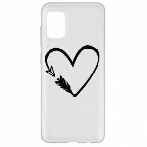 Samsung A31 Case Heart