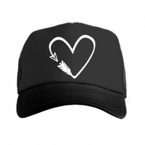 Trucker hat Heart