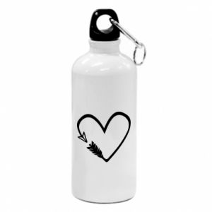 Water bottle Heart