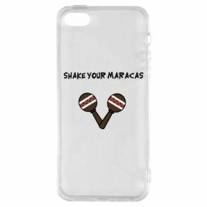 Etui na iPhone 5/5S/SE Shake your maracas