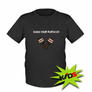 Dziecięcy T-shirt Shake your maracas