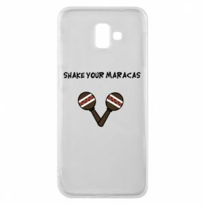 Etui na Samsung J6 Plus 2018 Shake your maracas