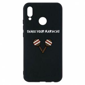 Etui na Huawei P20 Lite Shake your maracas