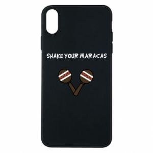 Etui na iPhone Xs Max Shake your maracas