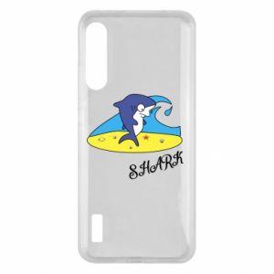 Etui na Xiaomi Mi A3 Shark on the beach