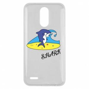 Etui na Lg K10 2017 Shark on the beach