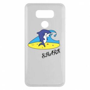 Etui na LG G6 Shark on the beach
